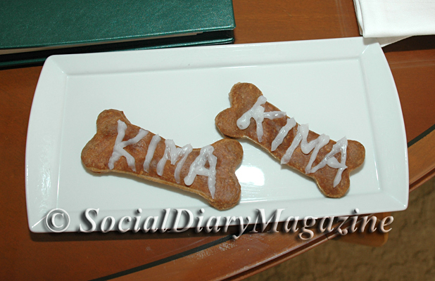 Dog Biscuit Treats for Kima at The Beverly Hils Hotel