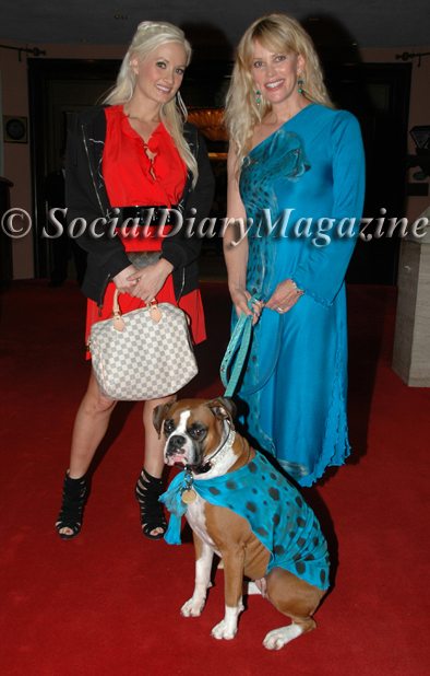 Holly Madison of Holly's World and Playboy Playmate with Social Diary Magazine's Margo Schwab and Kima