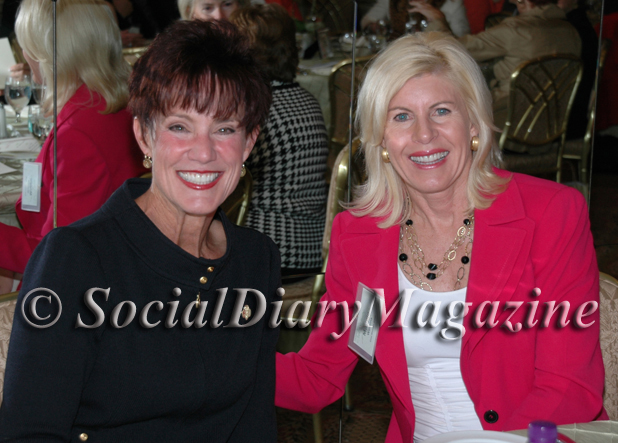 Carol LeBeau and Maggie Watkins at Girl Scouts Event