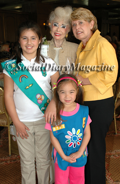 Sally Thornton honored as a Cool Woman with the Girls Scouts of San Diego